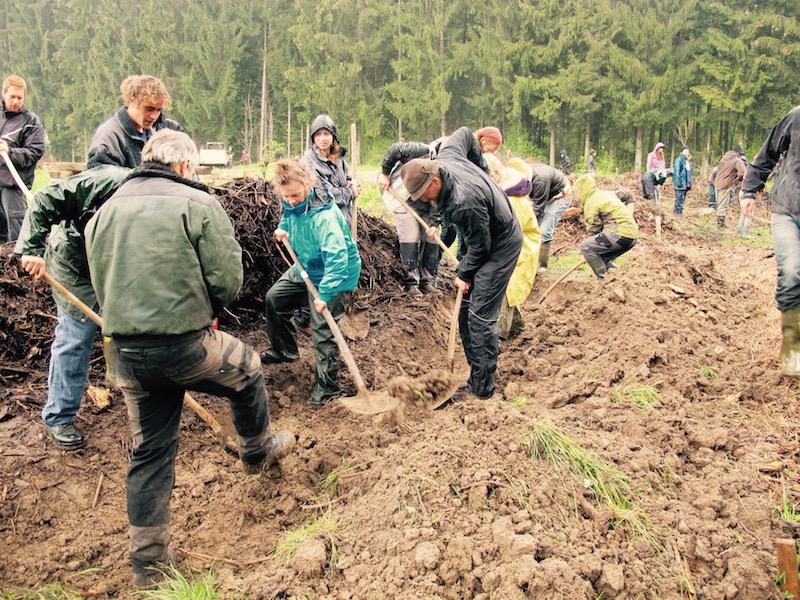 Permakultur-Landwirtschaft Workshop bio-dynamisch